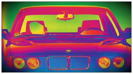 Youngtimer BMW 750i E32 aus den Baujahren 1987-1994