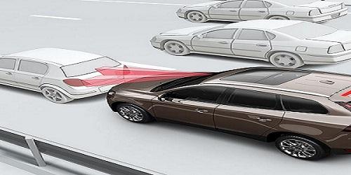 Bremsassistent in der Volvo Vision 2020