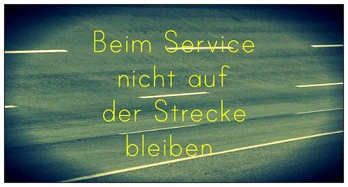 Die reale Servicewelt