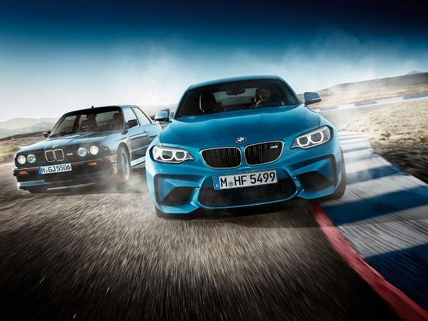 BMW M2 Front in der Vorderansicht