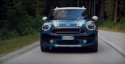 neue Mini Countryman 2017 Front LED der neue Mini Countryman von Vorne Bildquelle: mini.de