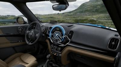neue Mini Countryman 2017 Innenraum und Cockpit im neuen Mini Countryman Bildquelle: mini.de