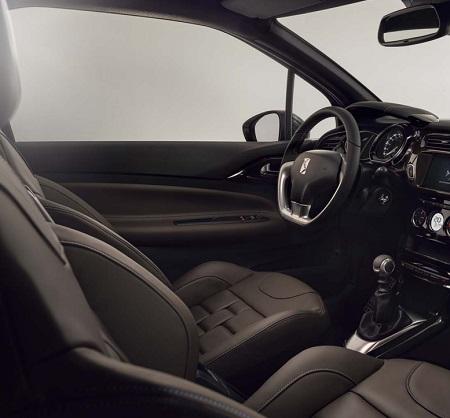 Der neue Citroen DS3 2016 Innenraum Blick ins Cockpit des neuen CItroen DS3