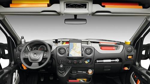 Renault Master Transporter Cockpit Innenraum