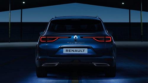 Renault Talisman Grandtour Heck Ansicht